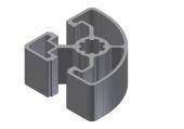 Profil aluminiu 45x45LR