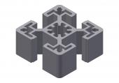 Profil aluminiu 45x45N