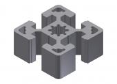 Profil aluminiu 45x45S