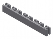 Profil aluminiu 16x160S