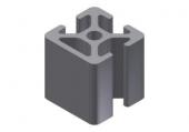 Profil aluminiu 20x20 1N MINI