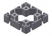Profil aluminiu 80x80L
