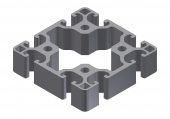 Profil aluminiu 80x80N