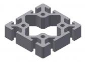 Profil aluminiu 80x80S
