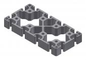 Profil aluminiu 80x160N