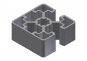 Profil aluminiu 45x45L 2N90°